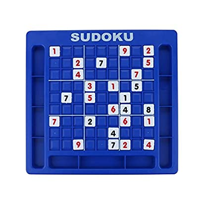 Loneflash Parent-child Game Sudoku Jigsaw Puzzle Game Board Set Desktop Nine Grid Cube Number Game Memory Chess Table Game Children Learning Educational Science Toys