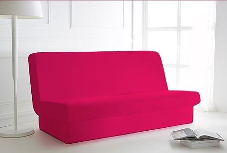 Divano Letto Rosa : Copri divano letto rosa fucsia 135x195 con copertura per la base