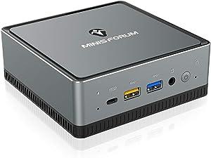 Mini PC AMD Ryzen 5 | 16 GB RAM 512 GB SSD | Radeon Vega 8 Graphics | Windows 10 Pro | Intel WIFI6 AX200 BT 5.1 | 4K HDMI/Display/USB-C |2X RJ45 Gigabit | 4X USB 3.1|Small Form Factor