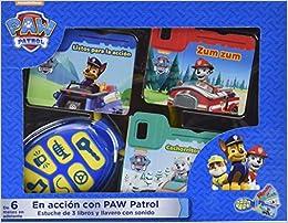 KKB. PAW PATROL (3 LIBROS Y LLAVERO CON SONIDO ...
