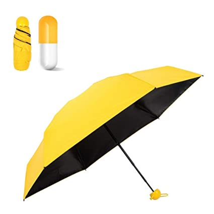 850c862db6e93 Happy2Buy Capsule Shape Umbrella/Stylish/Compact Size/Easy to Carry/Anti-