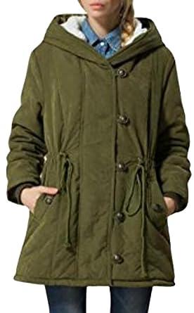 Warme outdoor mantel damen