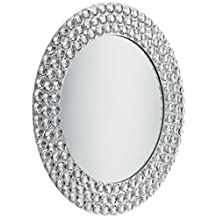 ChargeIt by Jay Charger Plate with Beads, Mirror