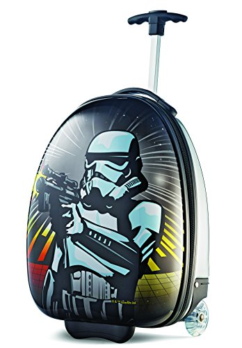 [American Tourister Disney 18 Inch Upright Hard Side, Star Wars/Storm Trooper, One Size] (Stormtrooper Disney)