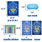 Happy Storm Chanukah Games Pin The Candles on The