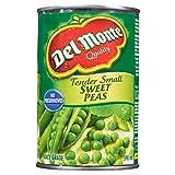 Del Monte Tender Small Sweet Peas, 398 ml, Pack of 24
