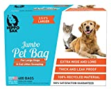 Hippo Sak® Extra Large Pet Poop Bags for Large Dogs and Cat Litter, 480 Count