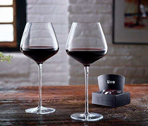 Ullo - Purificador de vino + 2 copas de vino Angstrom: Amazon.es ...