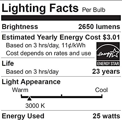 SYLVANIA Ultra LED Night Chaser, PAR38, 250W Equivalent, 2650 Lumen, Replacement for Halogen Flood Spot Light, Medium Base E26, Dimmable, 3000K Bright White