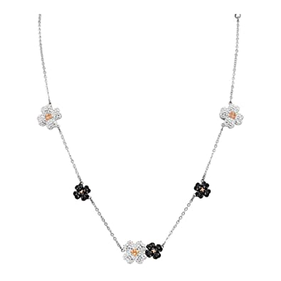 fe5b2c049 Amazon.com: Swarovski Crystal Latisha Mixed Plating Choker Necklace: Jewelry