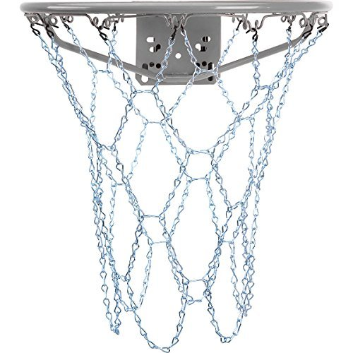 FRANKLIN Galvanized Steel Chain Basketball Hoop Net 19-Inch