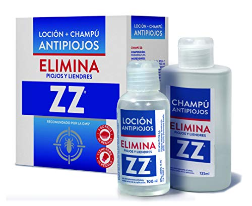 🥇 Zz Loción Antipiojos Y Champú