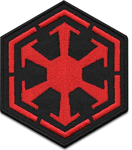 Iron On Patches - Red Star Wars - Sith Empire Logo Galactic Empire Patch Iron On Patch Embroidered Applique Miltacusa Star Wars Squadron Jedi Order Patch S-58