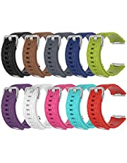 QGHXO Band for Fitbit Ionic, Soft Silicone Adjustable Replacement Sport Strap Band for Fitbit Ionic Smartwatch (No Tracker)
