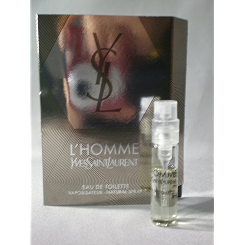 (L'homme Yves Saint Laurent By Yves Saint Laurent Edt Spray Vial on Card Mini 0.05oz/1.5ml )