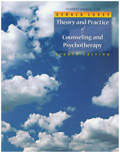 Student Manual for Theory and Practice of Counseling and Psychotherapy (Workbook)