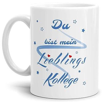 Qualit/ät Made in Germany Kaffeetasse//Mug//Cup Tassendruck Design-Tasse Lieblingsmensch Innen und Henkel Schwarz