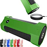 Amazon Tap Case Sling Cover by Cuvr | Easy to Dock and Anti Roll Accessories (Green)