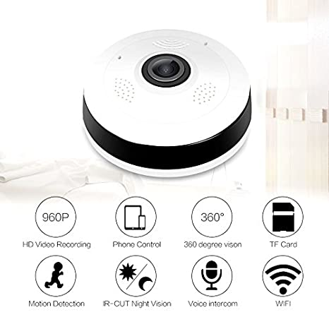 Buy Mercy V380S security system two way voice fisheye Panoramic
