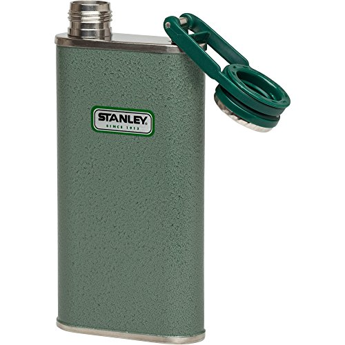 Stanley Classic Flask 8oz Hammertone Green by Stanley (Image #3)