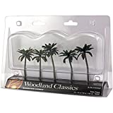 Palm Trees 3 To 3.75 5/Pkg-
