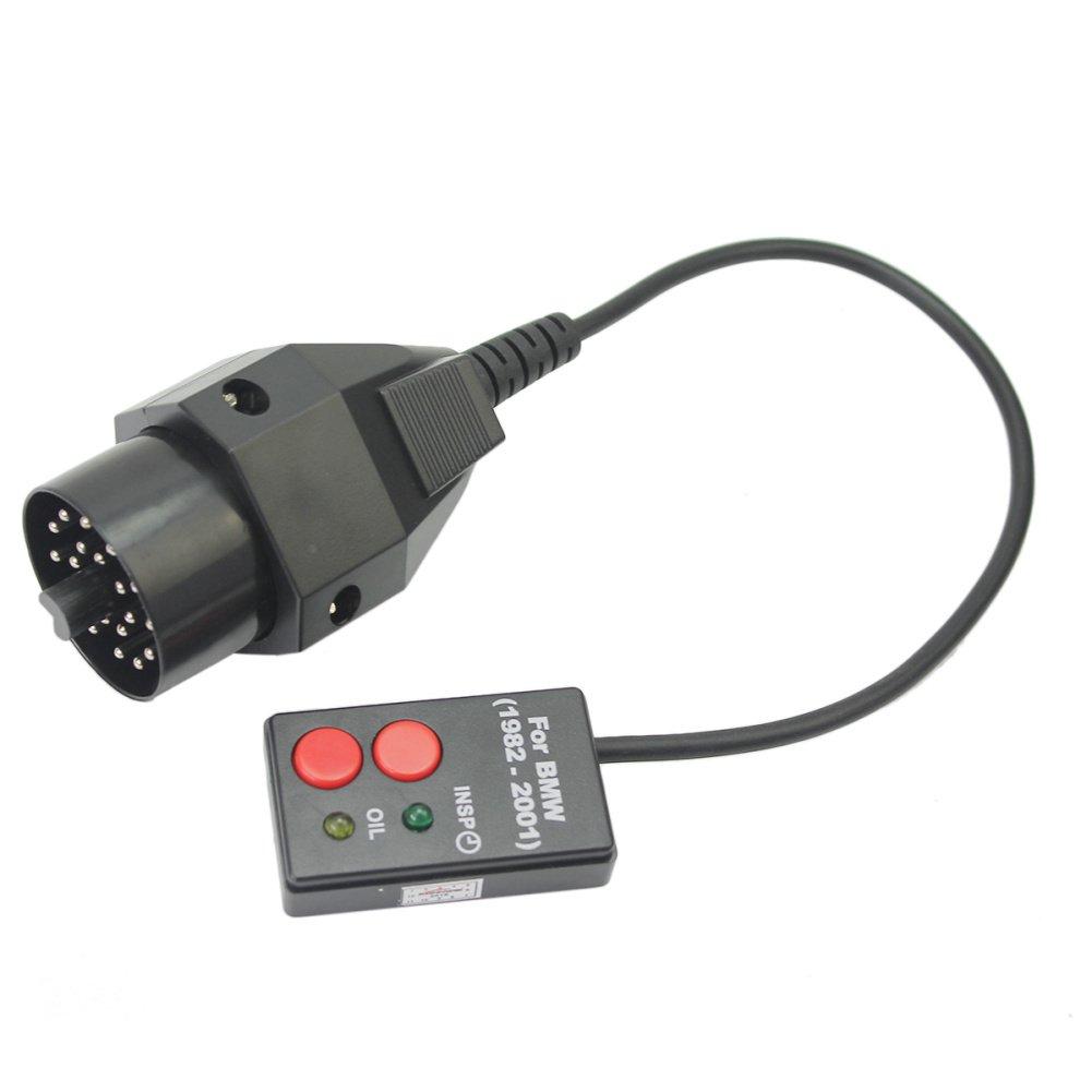 Obd Inspection Oil Service Reset Tool For Bmw E28 E30 E34 E36 E38 Wiring Harness Connectors E39 20 Pin Car Motorbike