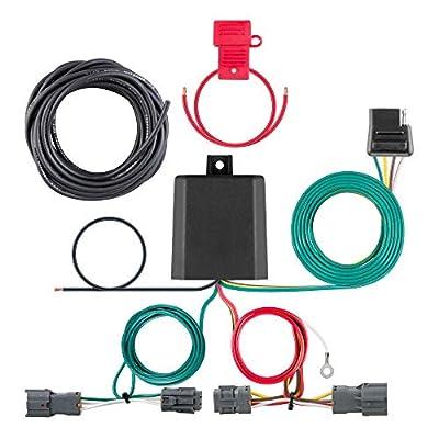 CURT 56328 Vehicle-Side Custom 4-Pin Trailer Wiring Harness for Select Kia Sorento: Automotive