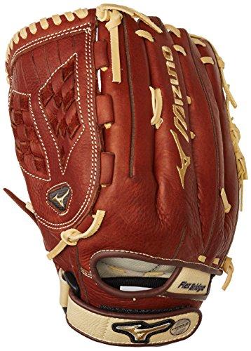 Mvp Fastpitch Softball Glove (Mizuno MVP Fastpitch Glove, Brick Dust, 12.5