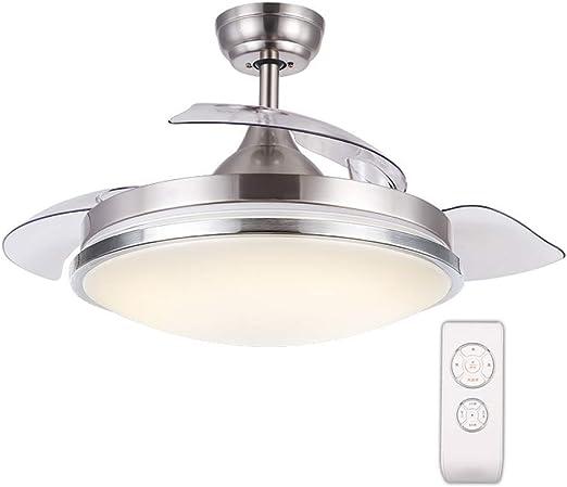 BAIF Luz de Ventilador de Techo Invisible con Control Remoto Aspa ...