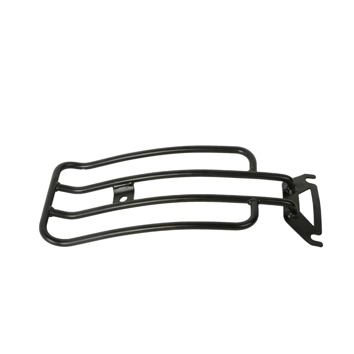 XMT-MOTOR Solo Seat Luggage Rack Chrome for Harley Davidson Touring Electra Glide Road King FLHT FLHR 1997-2005