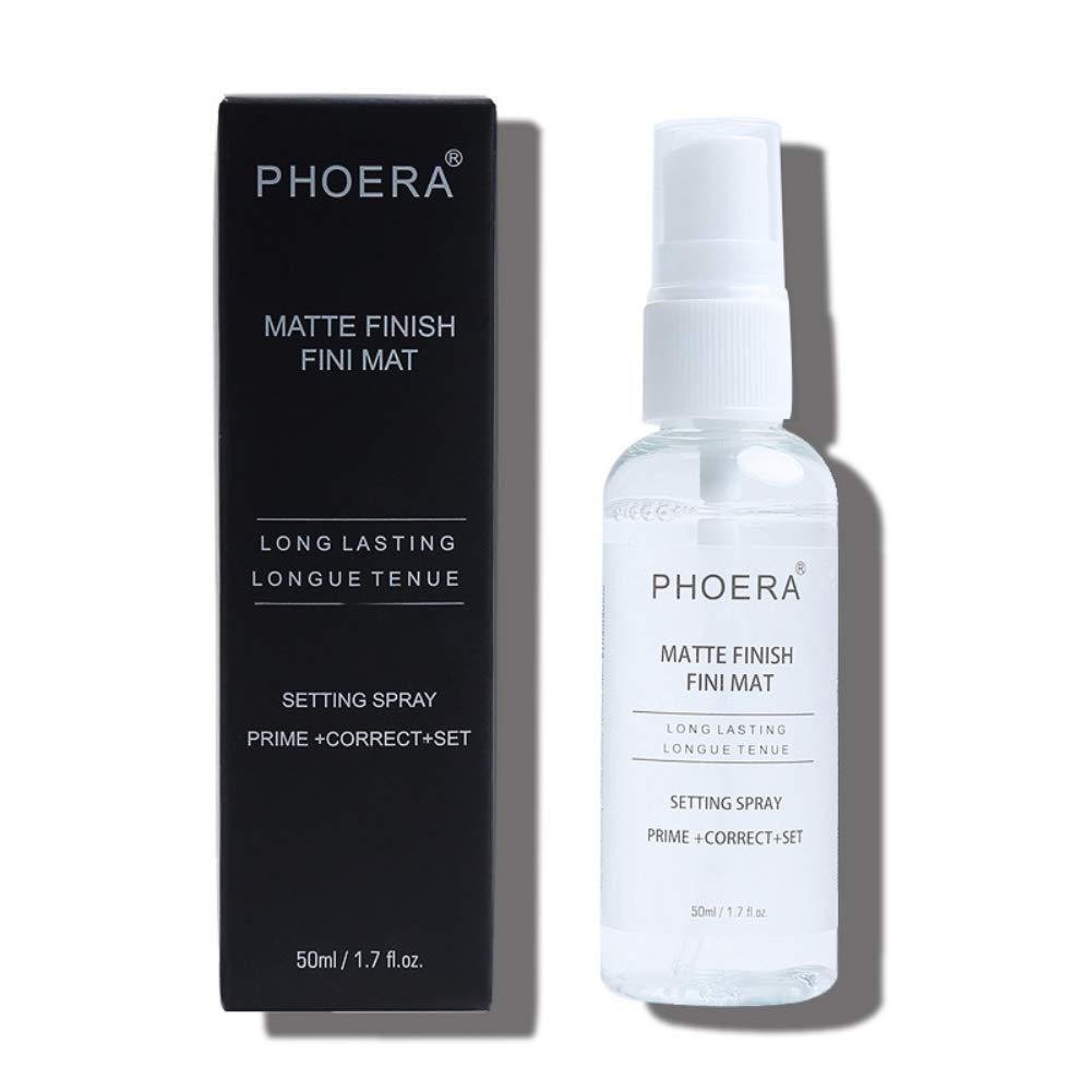 Onkessy Cosmetics Makeup Setting Spray Matte, Moisturiser Spray, 3-in-1 Primer & Correct & Setting Spray, Fixing and Finishing Spray for Face 50ml, Transparent