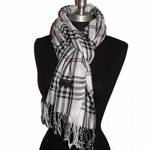 White_(US Seller)Unisex shawl solf cape scarf 27