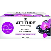 Attitude Natural Air Purifier Coriander and Olive, 8 Ounce