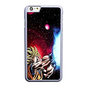 Generic Fashion Hard Back Case Cover Fit for iPhone 6 6S plus 5.5 inch Cell Phone Case white Dragon Ball FEW-7902182