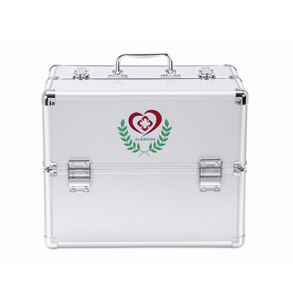 HuAma Hausarzt-Box Medizinische Box Spezielle Größe Multi-Layer Komplette Erste-Hilfe-Kasten Ambulante Medizinische Ausrüstung Familie Medizin Box
