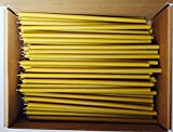 100 Votprof 100% Pure Beeswax Taper Candles (12'') Natural Honey Scent