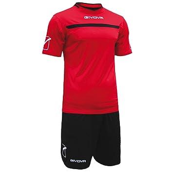 givova kitc58, Camiseta y Pantalón Corto De Fútbol Unisex Adulto: Amazon.es: Deportes y aire libre