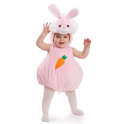Dress Up America rosa conejo disfraz Halloween disfraz infantil Animal para bebé