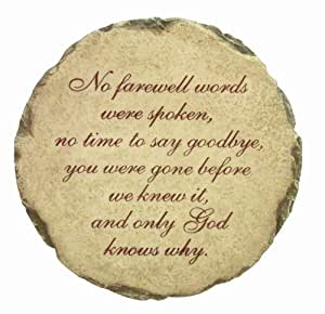 Spoontiques No Farewell Words Stepping Stone
