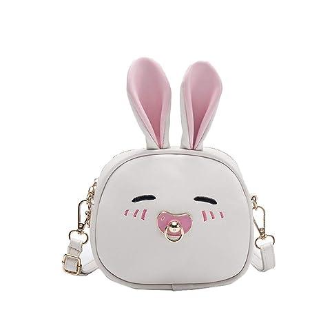 Tianba Kawaii El Conejo Mochilas Moderna Casual Bolsas Mujer Simple Mochila Diaria Colegio Estanca Backpack Moderna