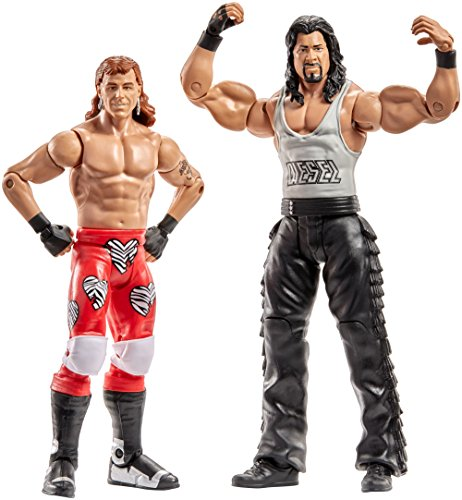 WWE Superstars Shawn Michaels & Diesel Action Figure (2 Pack) (Wrestling Superstars Wwe)