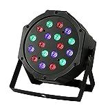 Stage Lights,18 Led Par Light Stage Lighting DMX 512 for KTV Disco DJ Party ...