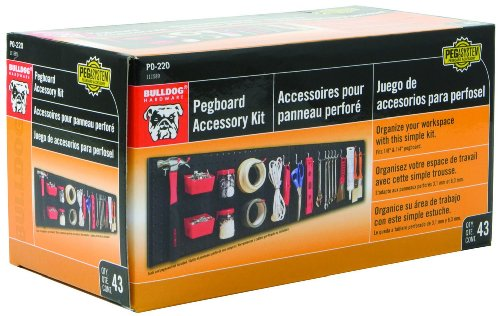 The Bulldog Hardware  11589 Peg Hook Accessory Kit by Bulldog Hardware