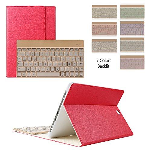 Samsung Galaxy Tab S2 9.7 Keyboard Case, KVAGO Stylish Pr...