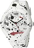 PUMA Unisex PU103211020 Form XL Paint-Splattered Watch