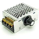 4000W High Power SCR Electronic Volt Regulator Speed Controller Motor AC 220V 110V