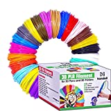 3d Pen & Printer Filament Refills | PLA 1.75mm | 25 Colour Array, 20 Solid Colours + 5 Fluorescent / Transparent, 33ft Each, 825 Feet Total
