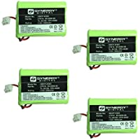 Vtech 89-1323-00-00 Cordless Phone Battery Combo-Pack includes: 4 x SDCP-H303 Batteries