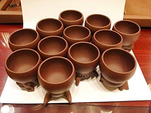 Creative Zisha Cup /Mug ''Animals of the Chinese Zodiac'' (Each Cup 100ml) by Gongfu Sado