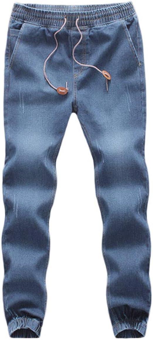 VPASS Pantalones Vaqueros para Hombre, Pantalones Casuales Moda ...